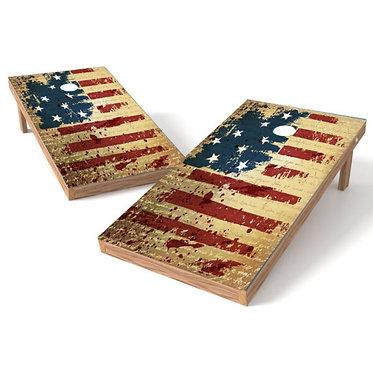 Independence Day Grunge Flag