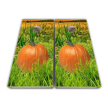 Pumpkin Patch Cornhole Toss Wrap Cornhole Game