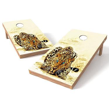 Leopard Crawl Cornhole Board Wrap Bags Baggo Corn Toss Wrap