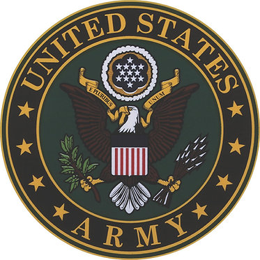 United States Army Seal Cornhole Decal Sticker