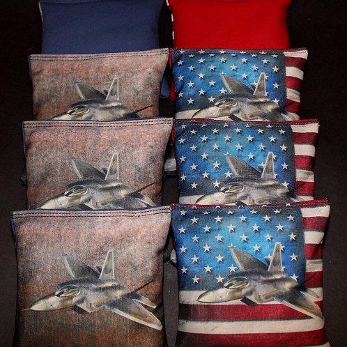 Thunderbirds Cornhole bags, set of (8)