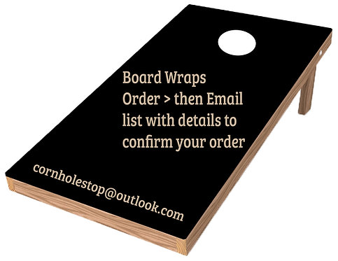 Central/South-Single Wrap-Finish Laminate or NonLaminate - BB- FREE SHIPPIN