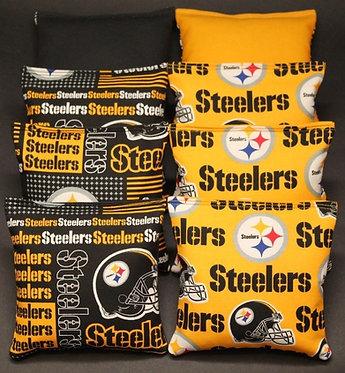 TEAM Cornhole Bag Set - Corn or Resin - Pick Your Team