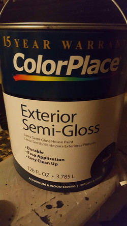 semi gloss paint suggested