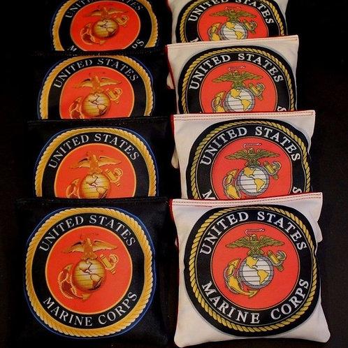 Marine Seal Marine Corps Cornhole bags, set of (8)