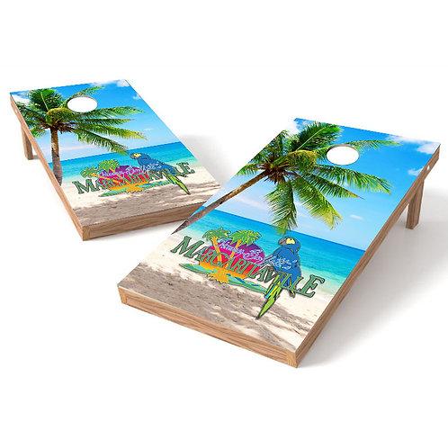 Margaritaville Beach Resort Cornhole Wrap