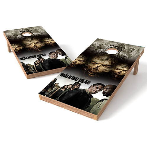 Walking Dead 3 Cornhole Board Wrap