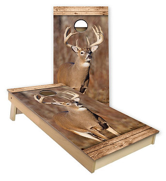 Whitetail Deer Cornhole Skin Cornhole Wrap