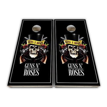 Guns N Roses Cornhole Toss Wrap Cornhole Game