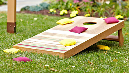 How to make your own Cornhole Boards
