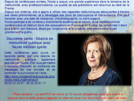 🌹🌺🥀🌹🌺 Conférence du 17 Octobre 2021🌹🌺🥀🌹🌺