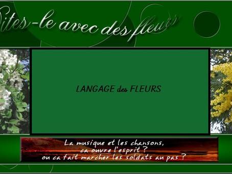 🍃 🌻 Le language des fleurs 🌻  🍃