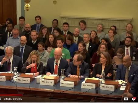 Caroline Gleich Congressional Testimony