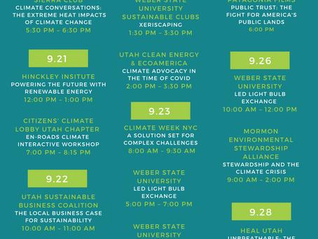 Utah Climate Week