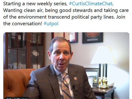 #CurtisClimateChat