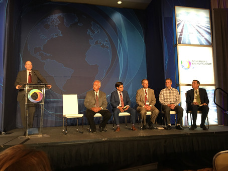 "A Climate of Action"" panel at the Governor's Energy Summit."