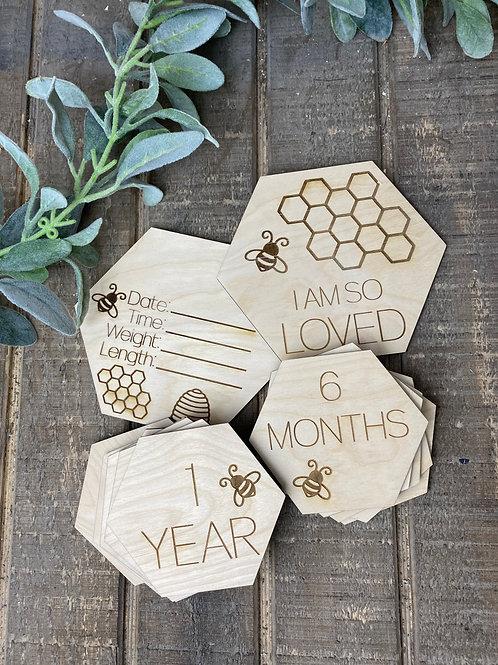 Baby Bee Milestones