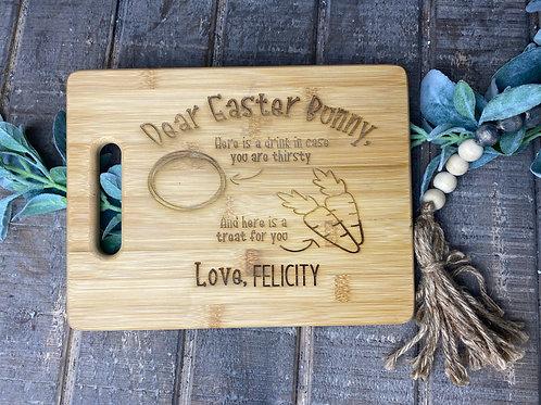 Easter Bunny Tray