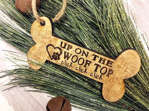 WooF Top Ornament