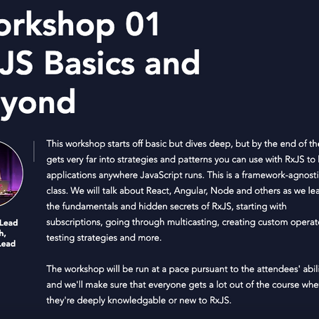 Next RxJS Workshop by Ben Lesh