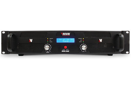 Amplificador Potência 2500W Novik