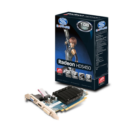 Placa de video Radeon HD 5450 1GB DDR3 VGA DVI, HDMI