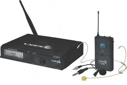 Microfone Sem Fio De Mão Lyco Uhf Uhxpro-01hli 100