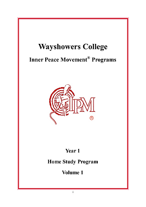 IPM Home Study Program Year 1 HARD COPY