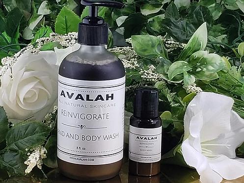 Reinvigorate Black Soap Body Wash