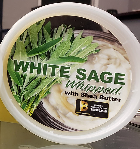 Whipped White Sage Shea Butter