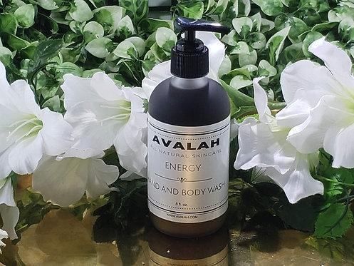 Energy Black Soap Body Wash