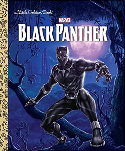 Black Panther Little Golden Book-Elem Reader