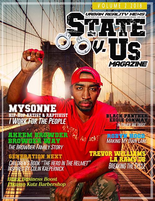 State Vs Us Magazine Issue 2