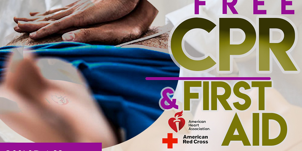 FREE CPR & First Aid Class