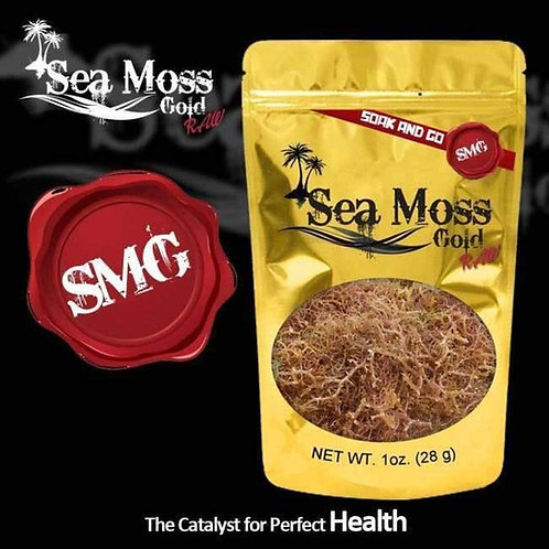 1 Ounce of Sea Moss Gold
