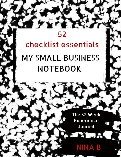 52 Checklist Essentials My Small Business Notebook