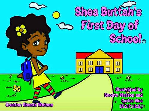 Shea Buttah's First Day of School