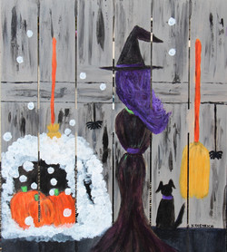 A Witch _ Her Dog