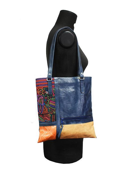 Bolso Azul+colores