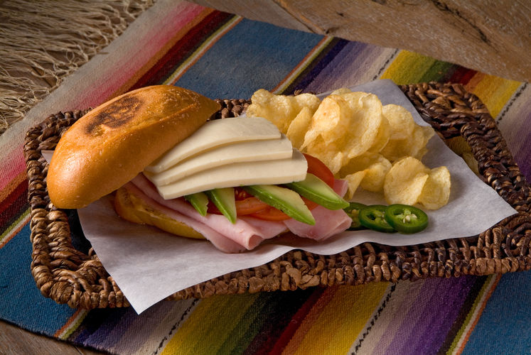 Mexican Style Ham and Cheese sandwich.jp