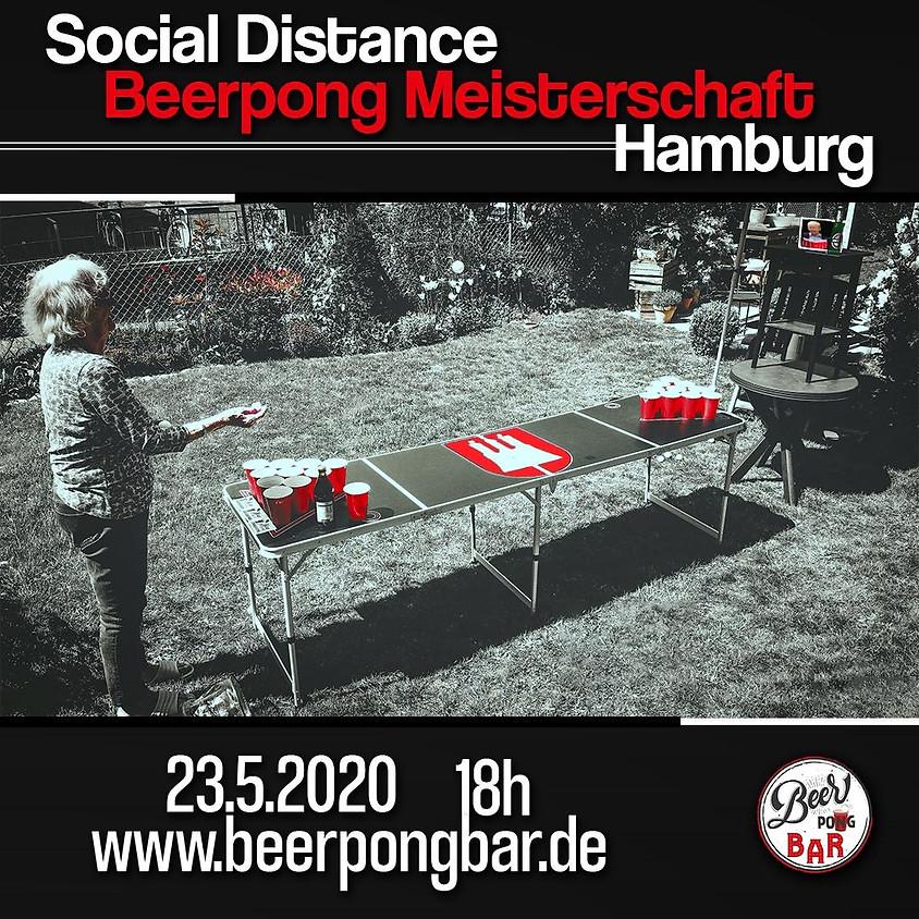 Social Distance Beerpong Meisterschaft Hamburg