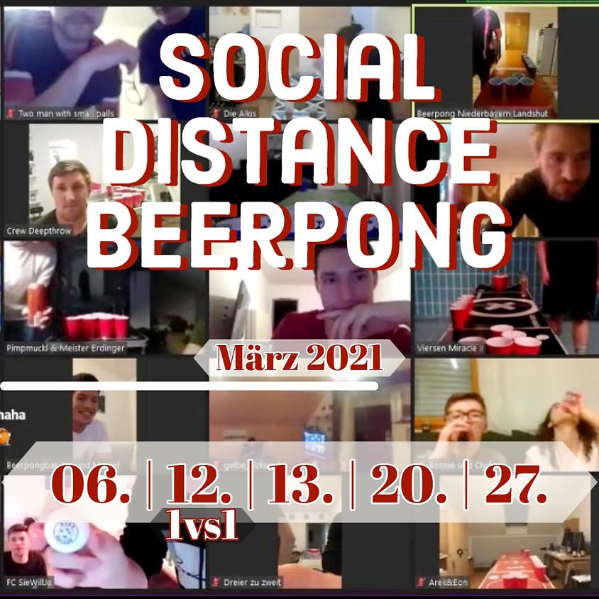Social Distance Beerpong 20.03.21