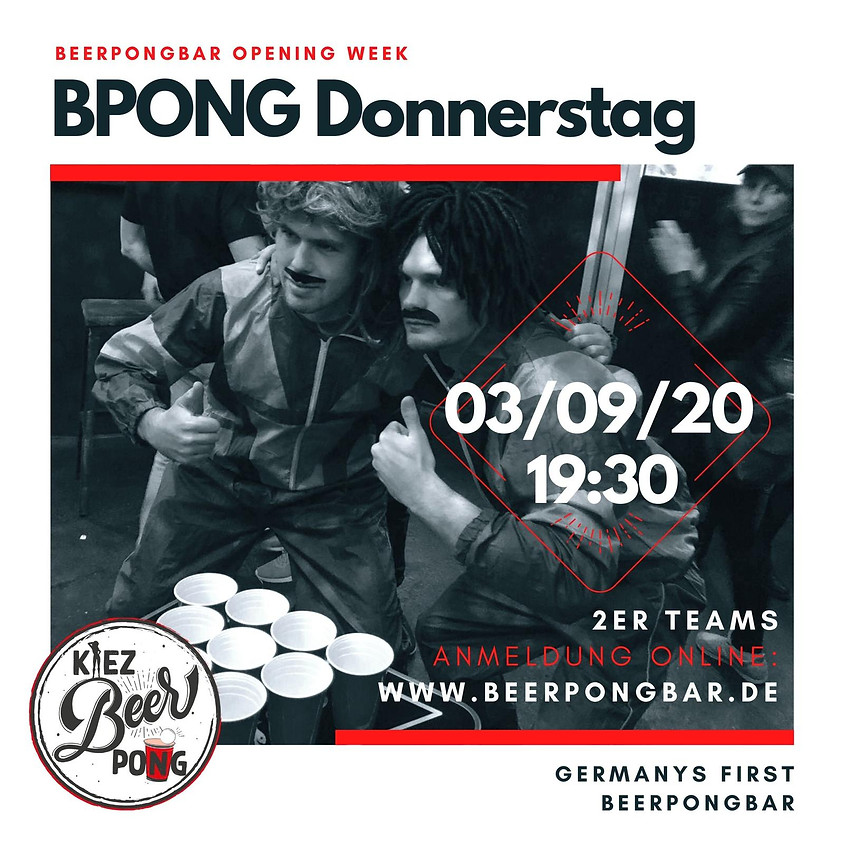Beerpong Donnerstag