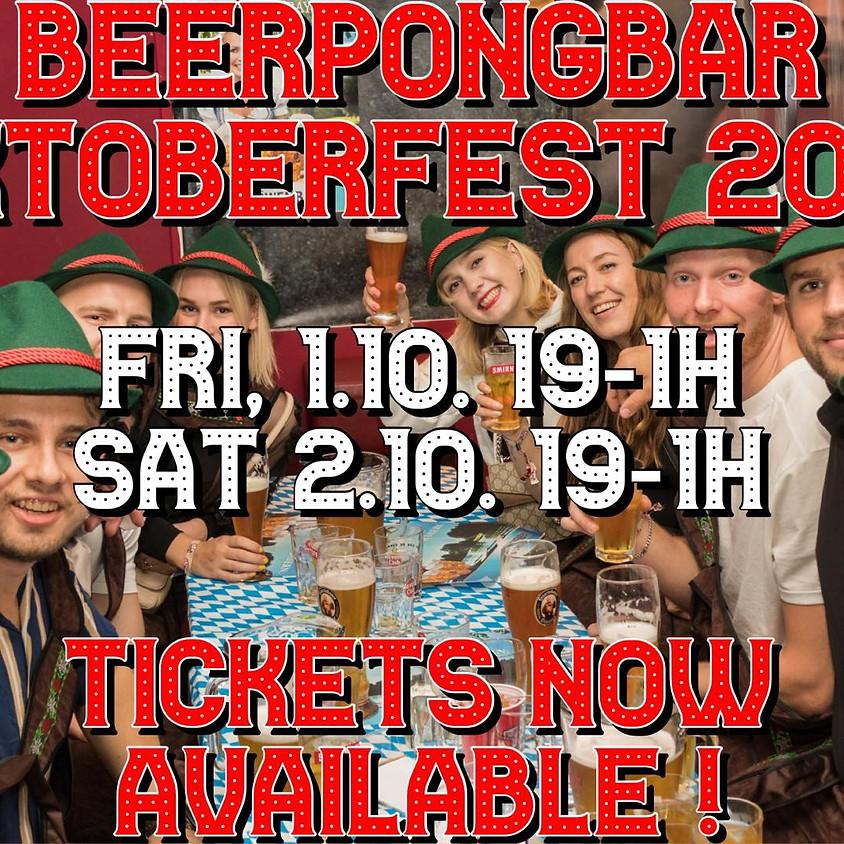 SAT, 2.10. Beerpongbar Oktoberfest