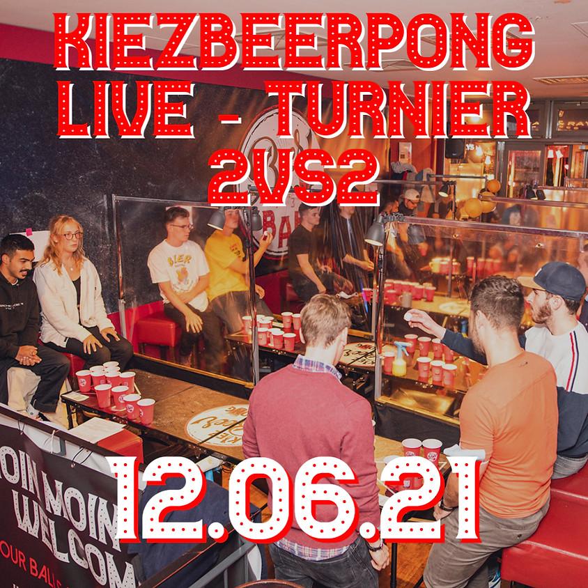 Kiezbeerpong  LIVE - Turnier 2vs2