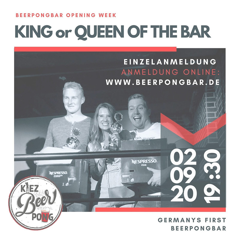 King / Queen of the bar