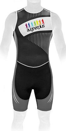 Triathlon BodyZip hinten | ärmellos