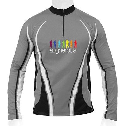 Runningshirt lang | Zipper