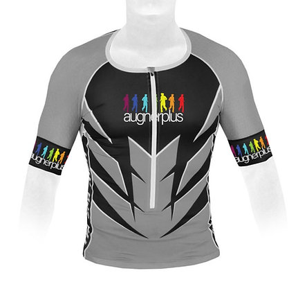 Triathlontrikot kurz | Zipper