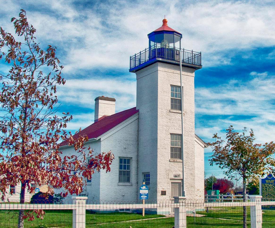 Lighthouse in MI (near Luddington)